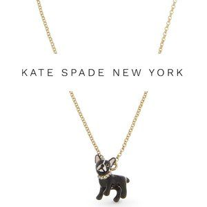 Kate Spade Antoine Dog Mini Pendant Necklace
